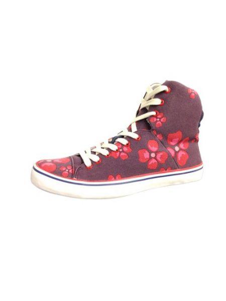Sneakersy - fioletowe Armani Jeans