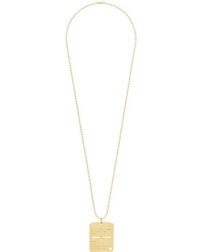 Бальное ожерелье золотое для полных 1017 Alyx 9sm