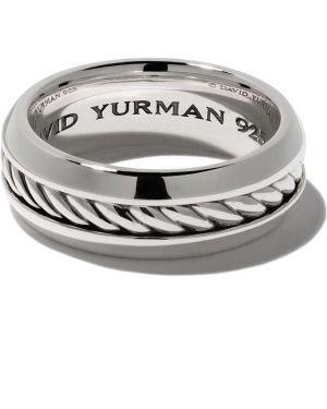 Кольцо классическое - серебряное David Yurman