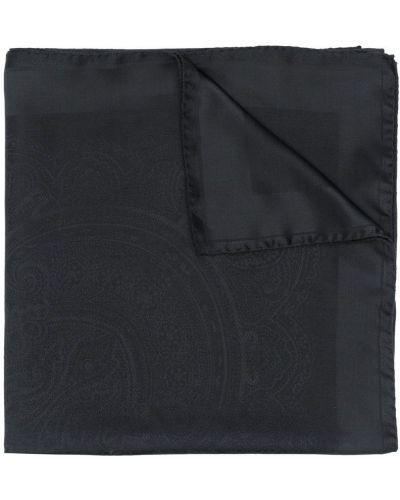 Платок черный Etro