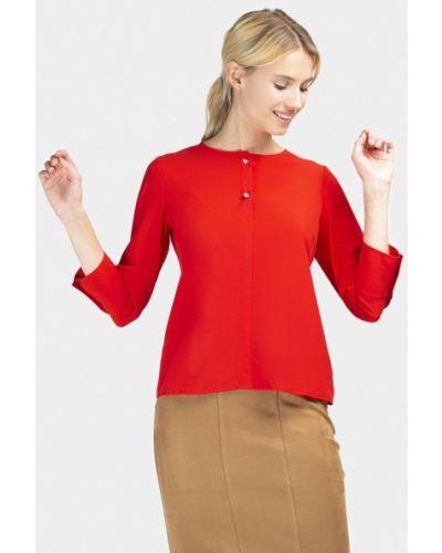 Блузка с длинным рукавом красная Grass