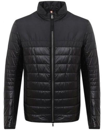Нейлоновая стеганая куртка с воротником Bogner