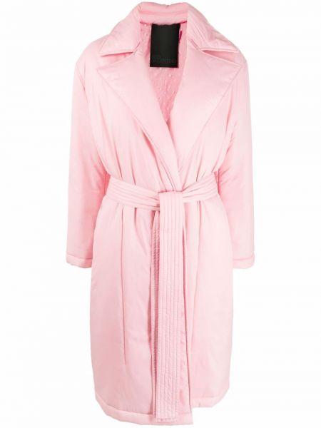 Розовое длинное пальто Red Valentino