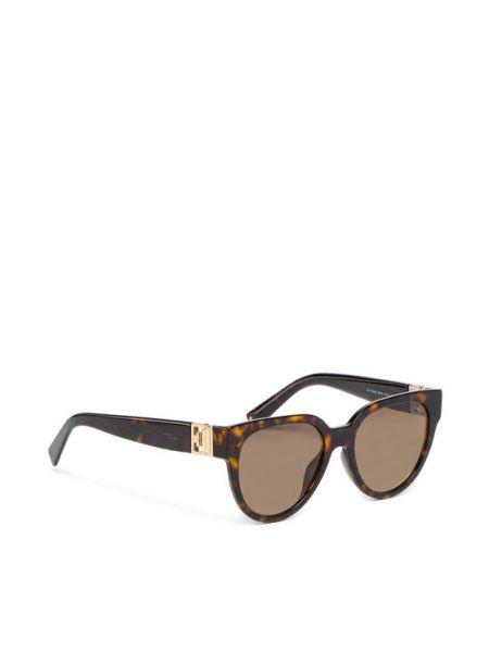 Brązowe okulary Givenchy