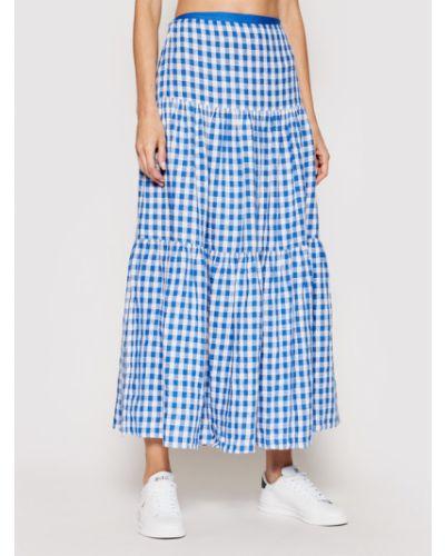 Niebieska spódnica maxi Lauren Ralph Lauren