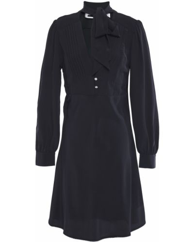 Czarna sukienka zapinane na guziki Mcq Alexander Mcqueen