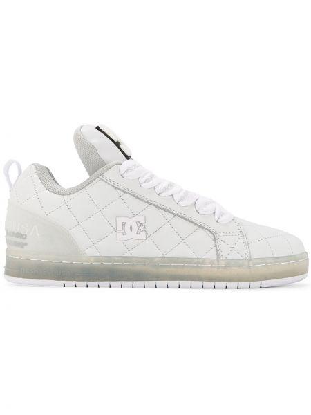 Кожаные белые кроссовки Maison Mihara Yasuhiro