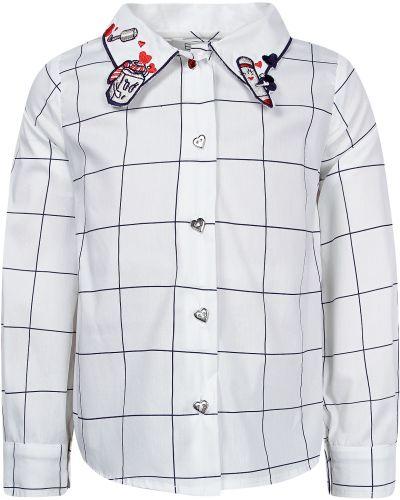 Хлопковая рубашка - белая Elsy
