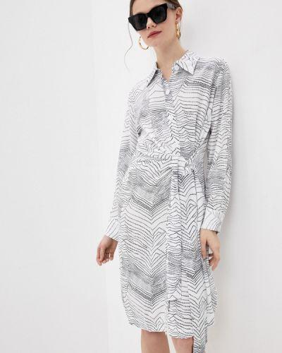 Белое платье с запахом Lezzarine