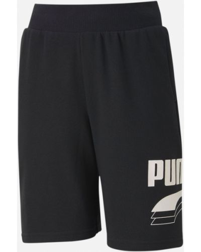Черные шорты Puma