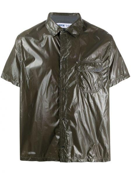 Классическая рубашка милитари с воротником с карманами Affix