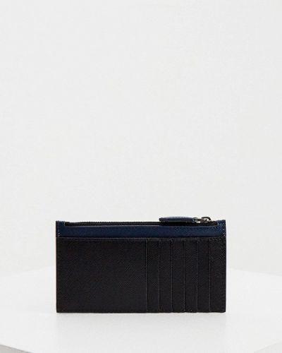 Черный кожаный кошелек Trussardi