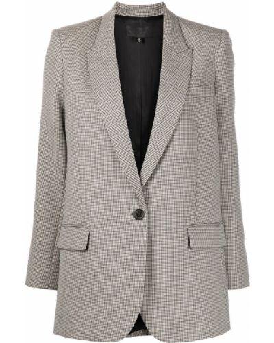 Шерстяной пиджак - коричневый Nili Lotan