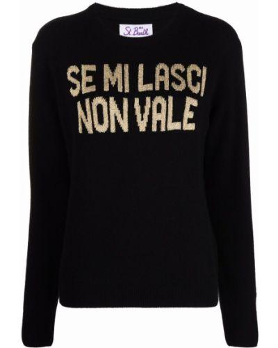 Шерстяной свитер - черный Mc2 Saint Barth