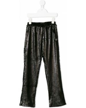 Черные брюки Le Mu