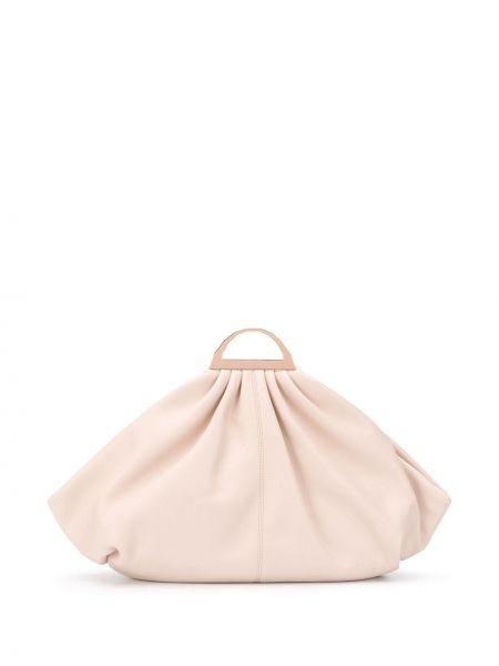 Skórzana torebka na ramię z uchwytem The Volon