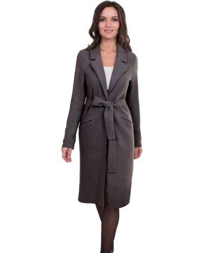 Пальто с поясом прямое J-splash