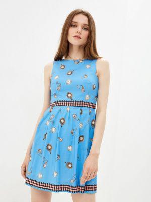 Платье - голубое Lezzarine