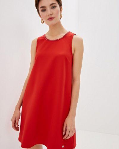 Платье осеннее прямое Blugirl Folies