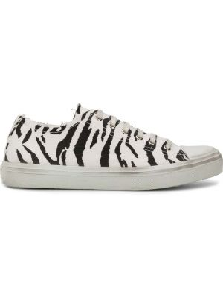 Sneakersy czarne białe Saint Laurent
