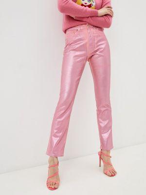 Повседневные розовые брюки Chiara Ferragni Collection