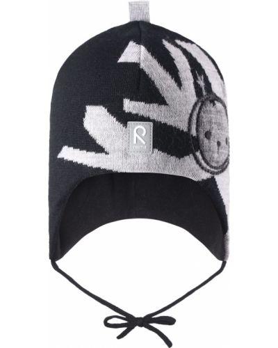 Зимняя шапка шерстяная с завязками Reima