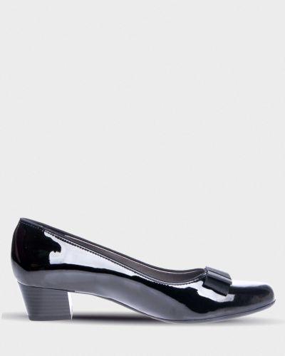 Туфли на каблуке черные Ara