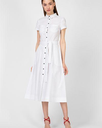 Платье миди - белое Kano