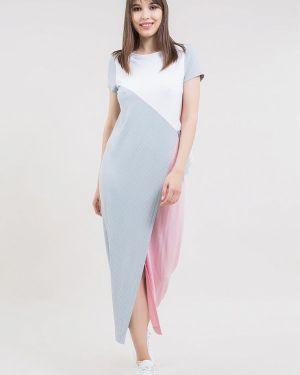 Однобортное платье Maxa
