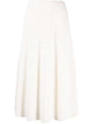 Шерстяная юбка - белая Christian Wijnants
