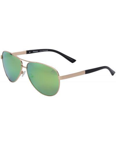 Очки авиаторы зеленый солнцезащитные Kappa
