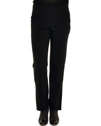 Шерстяные брюки - черные Armani Collezioni