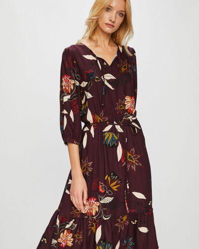 Платье с V-образным вырезом с оборками Medicine