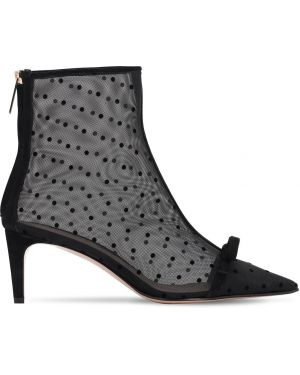 Ботинки на каблуке без каблука с острым носком Red Valentino