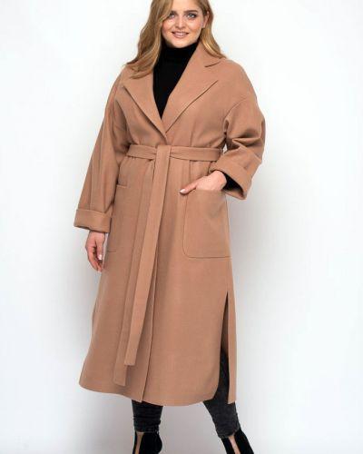 Пальто оверсайз - желтое Muar