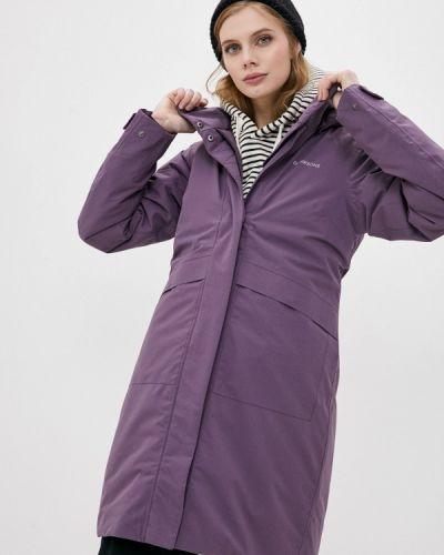 Фиолетовая утепленная куртка Didriksons