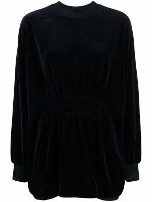 Бархатное платье - черное Alberta Ferretti