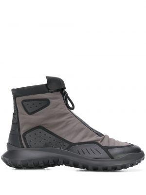 Кроссовки на молнии - серые Camper