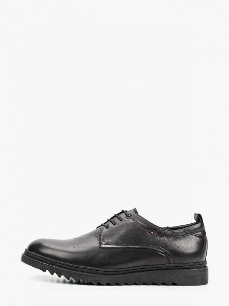 Кожаные черные туфли Guido Grozzi