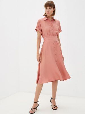 Платье рубашка - розовое Gloss