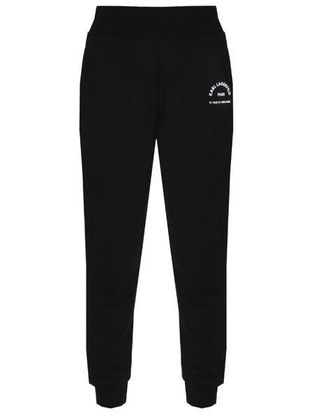 Спортивные брюки укороченные с поясом Karl Lagerfeld