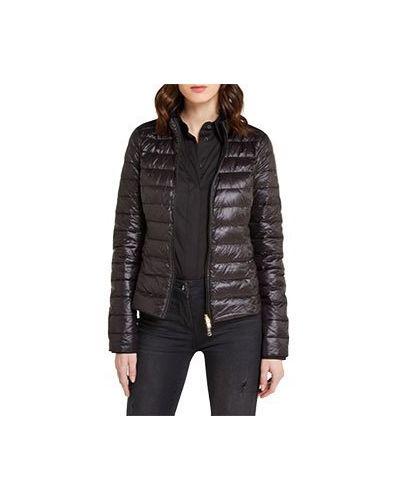 Черная демисезонная куртка Patrizia Pepe