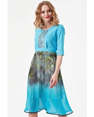 Летнее платье с поясом платье-сарафан Wisell