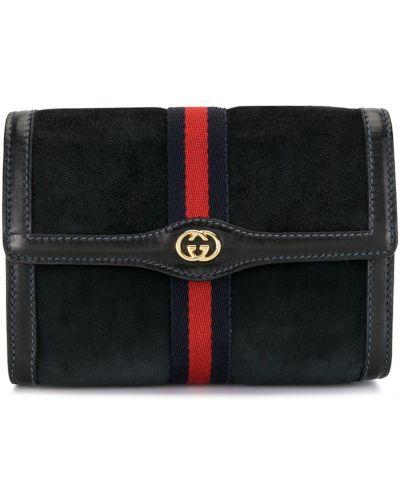 Złota kopertówka - czarna Gucci Pre-owned