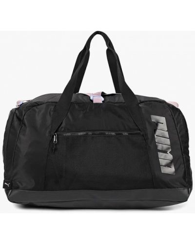 Спортивная сумка нейлоновая черный Puma