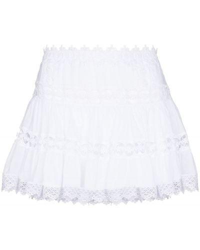 Biała spódnica koronkowa Charo Ruiz Ibiza