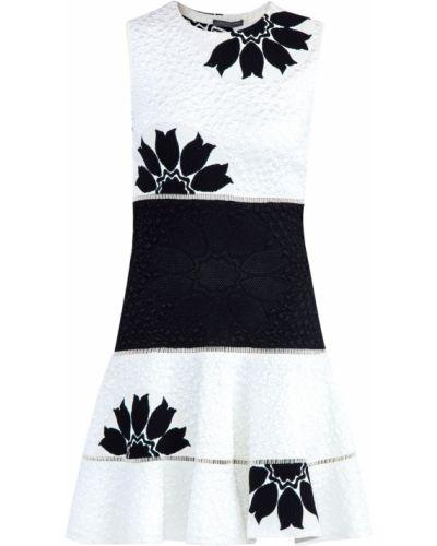 Платье на молнии из вискозы Alexander Mcqueen