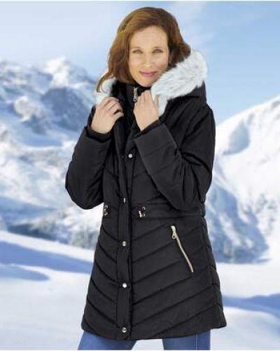 Черная утепленная куртка Atlas For Men