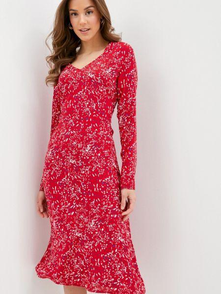 Платье прямое красный Concept Club