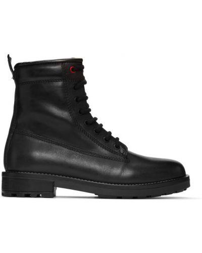 Кожаные ботинки с высоким голенищем треккинговые Diesel